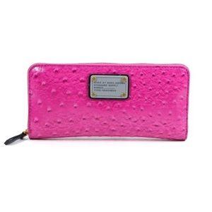 Marc Jacobs | Pop Pink Zip Arround Wallet Clutch